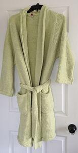 Chenille Natoril Green Bathrobe